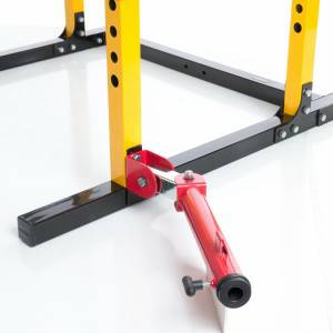 PowerTec Barbell Landmine T Bar Row Power Rack Attachment WB-BLA